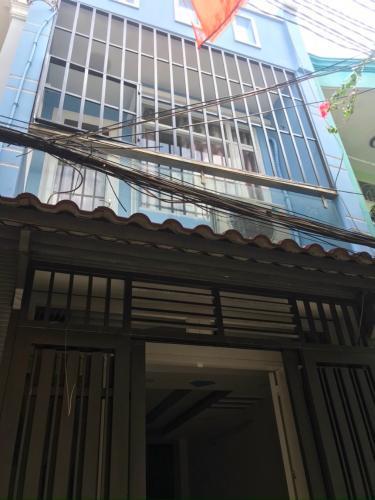 Mặt tiền nhà phố Quận Gò Vấp Nhà phố kết cấu 1 trệt 1 lầu, hẻm rộng cách đường lớn chỉ 20m.