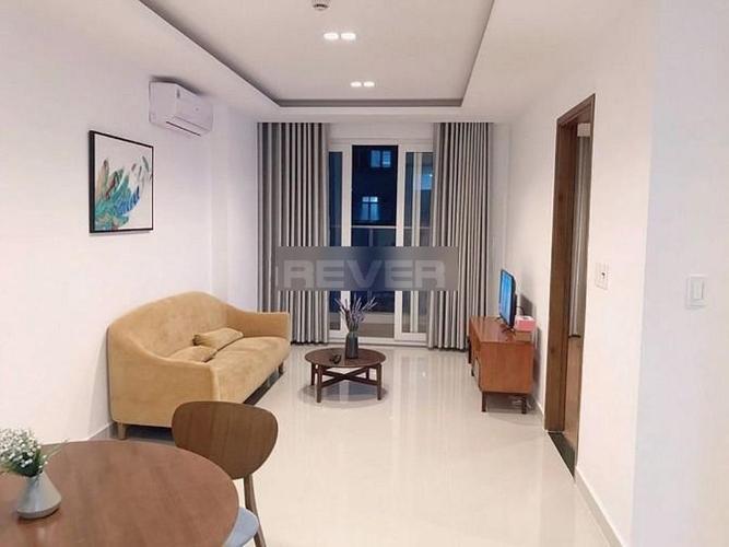 Căn hộ Sky Center tầng 5 view nội khu, đầy đủ nội thất.