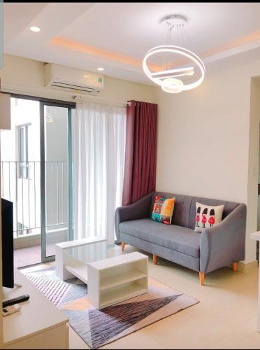 Căn hộ Masteri Thảo Điền tầng 32 thiết kế hiện đại, đầy đủ nội thất.