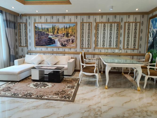 Căn hộ Léman Luxury Apartment tầng 16 view đón gió, đầy đủ nội thất.