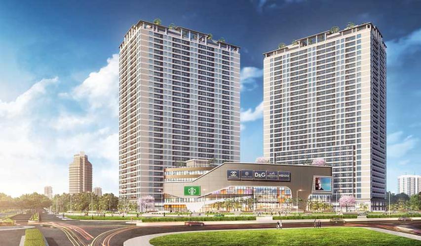 Căn hộ Lavida Plus tầng cao, 2 phòng ngủ, diện tích 74.24m2, thiết kế hiện đại.