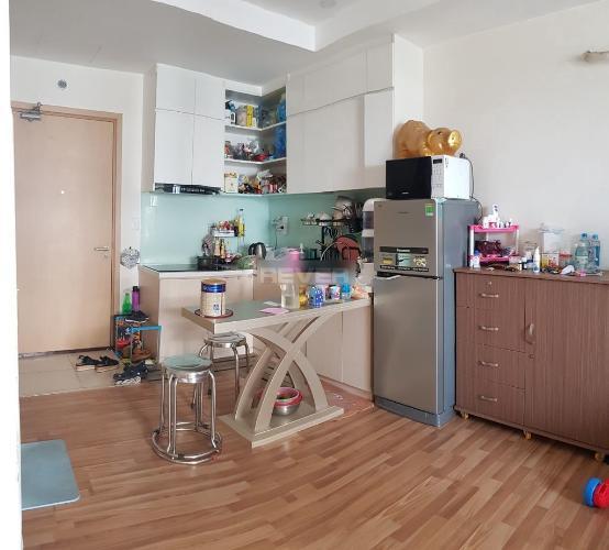 Căn hộ M-one Nam Sài Gòn tầng 9 view thoáng mát, đầy đủ nội thất.