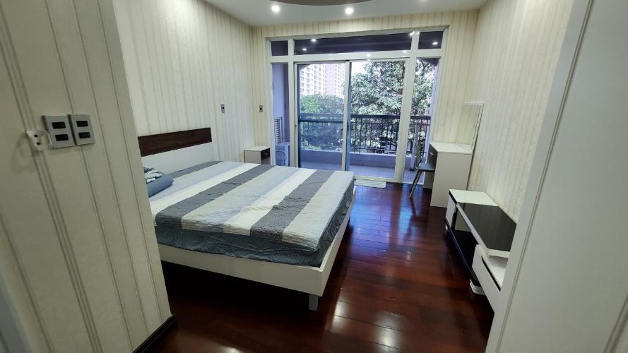 Phòng ngủ Green View, Quận 7 Căn hộ Green View đầy đủ nội thất, view nội khu.