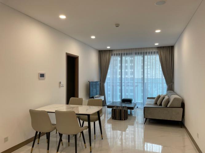 Căn hộ Sunwah Pearl thiết kế hiện đại, bàn giao đầy đủ nội thất.