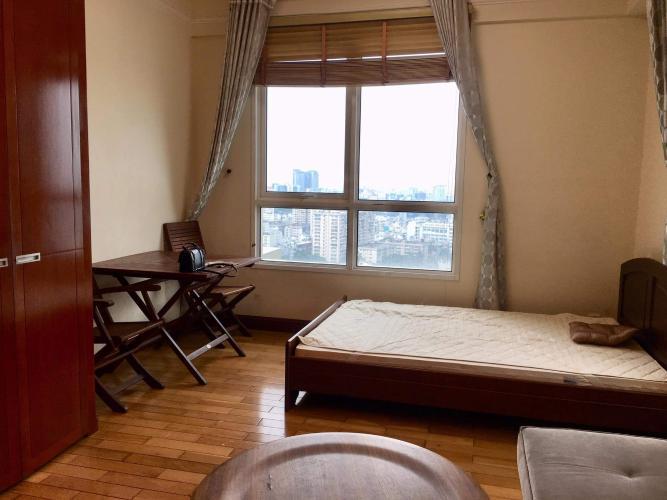 Căn hộ tầng cao The Manor view thành phố, nội thất đầy đủ.