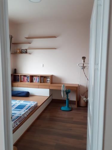 Phòng ngủ chung cư Sư Vạn Hạnh, Quận 5 Căn hộ chung cư Sư Vạn Hạnh hướng Tây, đầy đủ nội thất.