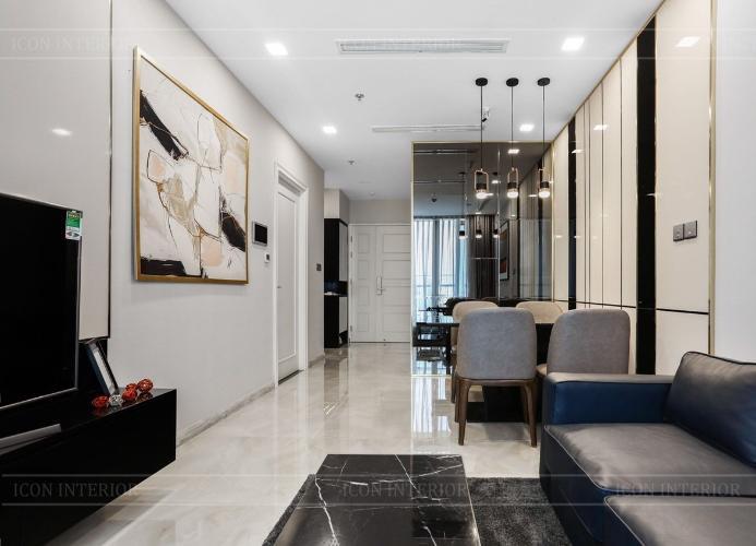 Office-tel Vinhomes Golden River thiết kế sang trọng, đầy đủ nội thất.