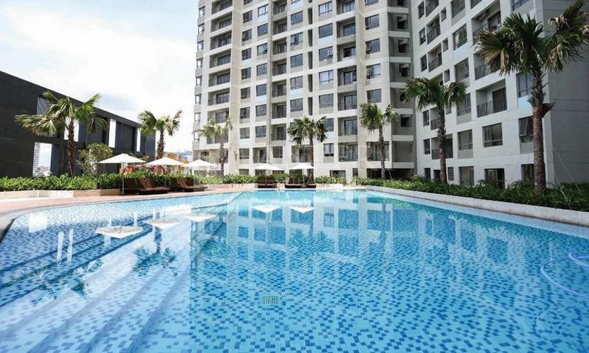 Hồ bơi Masteri An Phú, Quận 2 Căn hộ Officetel Masteri An Phú nội thất cơ bản, thoáng mát.