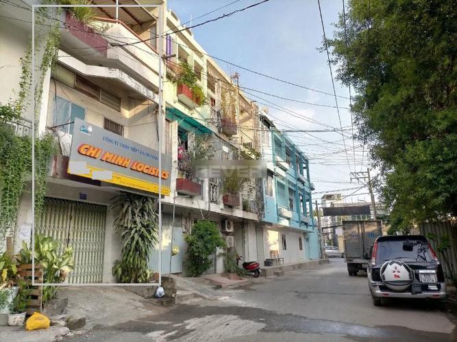 Đường nhà phố Bình Thạnh Văn phòng Bình Thạnh diện tích sử dụng 251m2, hẻm xe hơi.