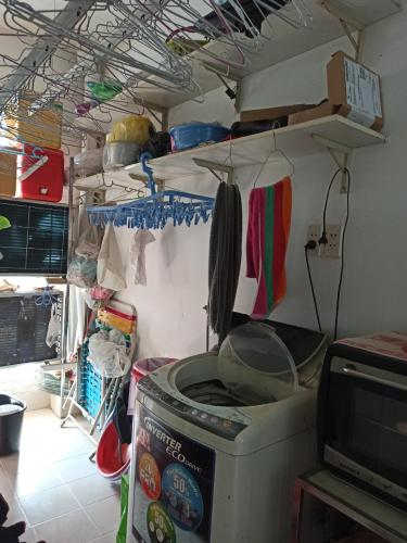 Phòng giặt đồ Ehome 3, Bình Tân Căn hộ Ehome 3 đầy đủ nội thất, ban công hướng Tây.