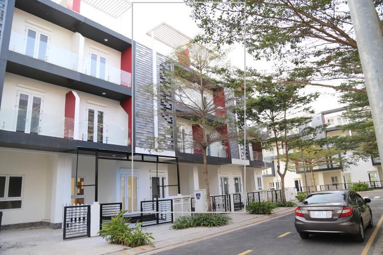 Mặt tiền nhà phố Nguyễn Duy Trinh, Quận 9 Nhà phố hướng Đông, diện tích 203m2, khu dân cư Valencia.