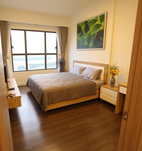 Căn hộ tầng 24 The Sun Avenue 2 phòng ngủ đón nắng view sông siêu đẹp