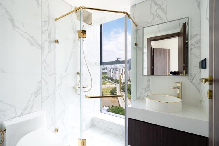 Phòng tắm căn hộ Sunshine City SaiGon, Quận 7 Căn hộ Sunshine City Saigon tầng 7 gồm 2 phòng ngủ, nội thất cơ bản.