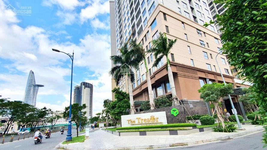 Tòa nhà  căn hộ Tresor Căn hộ The Tresor tầng cao đầy đủ nội thất, view sông và thành phố.