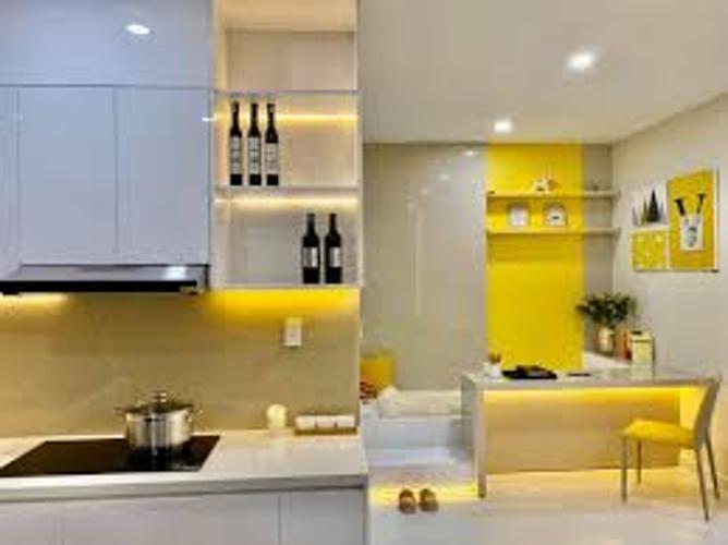 Bán căn hộ Ricca thuộc tầng trung, diện tích 56m2, 1 phòng ngủ, ban công hướng Tây Bắc.