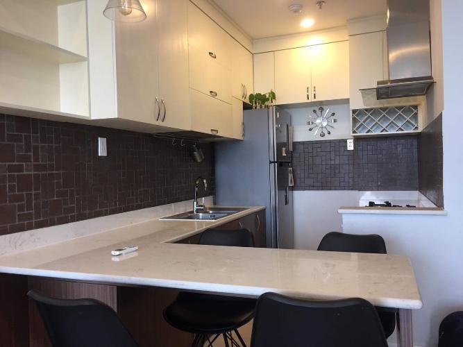 Phòng bếp Galaxy 9, Quận 4 Căn hộ Galaxy 9 tầng trung, đầy đủ nội thất.