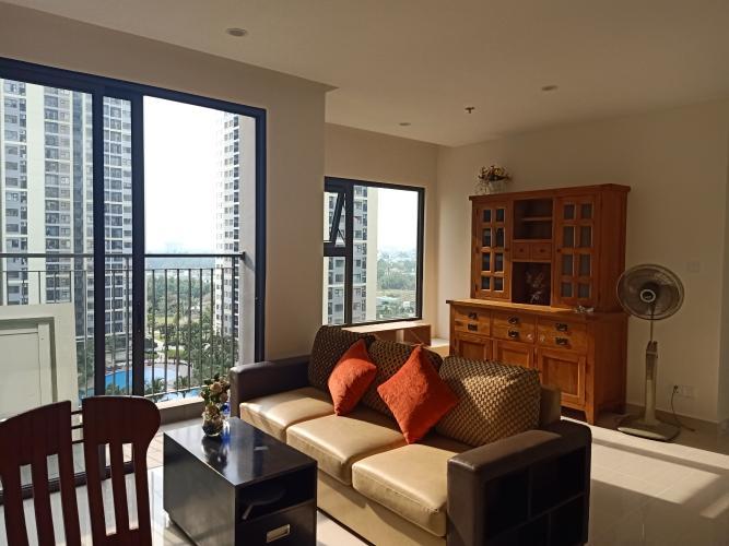 Phòng khách Vinhomes Grand Park Quận 9 Căn hộ Vinhomes Grand Park đầy đủ nội thất, view sông.