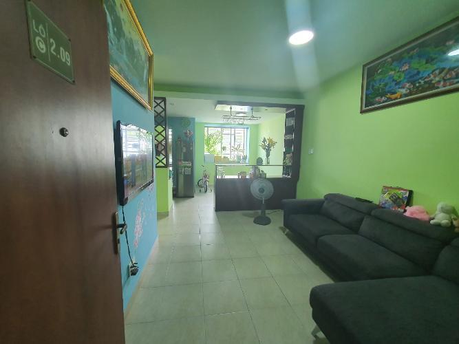 Căn hộ Officetel chung cư Phú Lợi 1 hướng Đông Bắc, nội thất cơ bản.