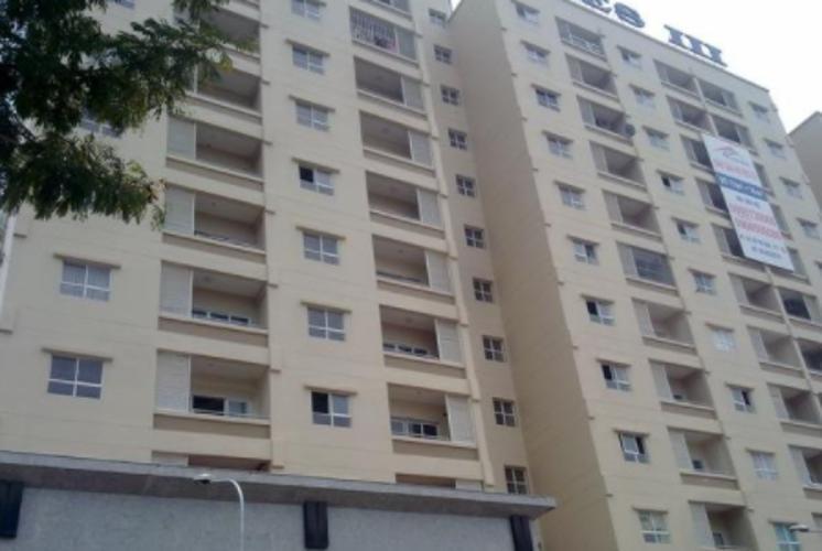 Căn hộ Res III , Quận 7 Căn hộ Res III tầng thấp view thoáng mát có 2 phòng ngủ, đầy đủ nội thất