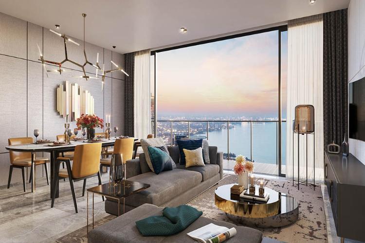 Nhà mẫu căn hộ The Metropole Thủ Thiêm, Quận 2 Căn hộ The Metropole Thủ Thiêm tầng 6 thiết kế kỹ lưỡng, nội thất cơ bản.