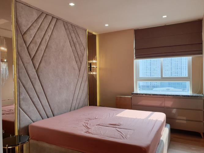 Phòng ngủ căn hộ Grand Riverside, Quận 4 Căn hộ Grand Riverside tầng 9 view thành phố, đầy đủ nội thất.