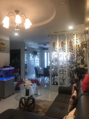 Phòng khách căn hộ chung cư Cửu Long Căn hộ chung cư Cửu Long nội thất cơ bản, view thành phố thoáng mát.