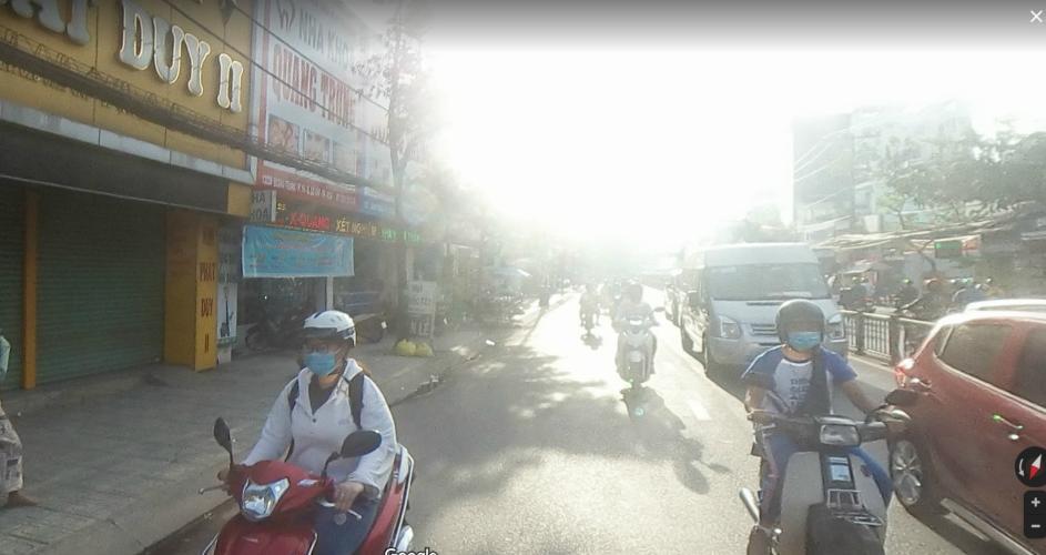 Đường nhà phố Nhà phố Gò Vấp gần mặt tiền đường Quang Trung, hướng cửa Tây Nam.