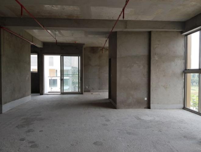 Nhà thô Phú Mỹ Hưng Midtown Shop-house Phú Mỹ Hưng Midtown tầng thấp, diện tích 127m2.