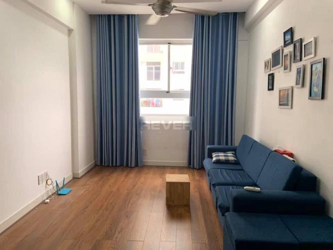 Căn hộ tầng 12 Hưng Ngân Garden hướng Tây thoáng mát, đầy đủ nội thất.