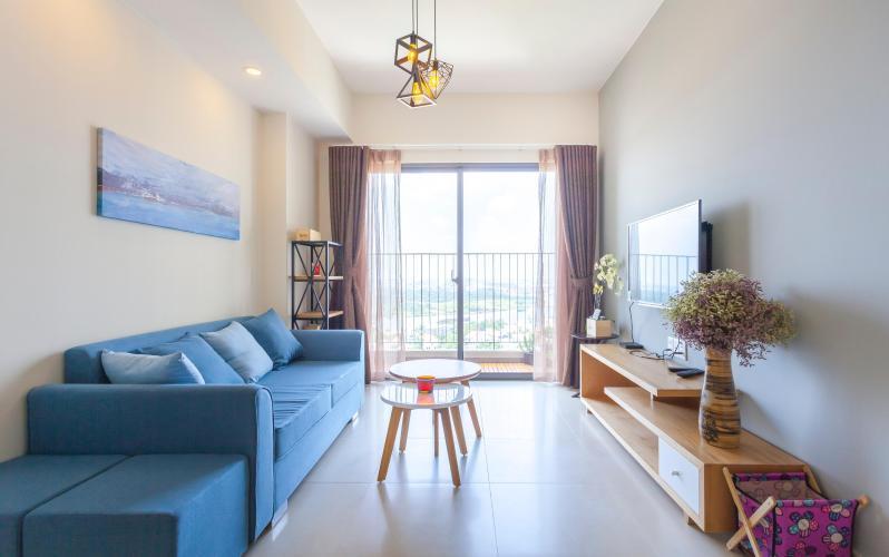 Căn hộ tầng 23 Masteri Thảo Điền, đầy đủ nội thất và tiện ích.