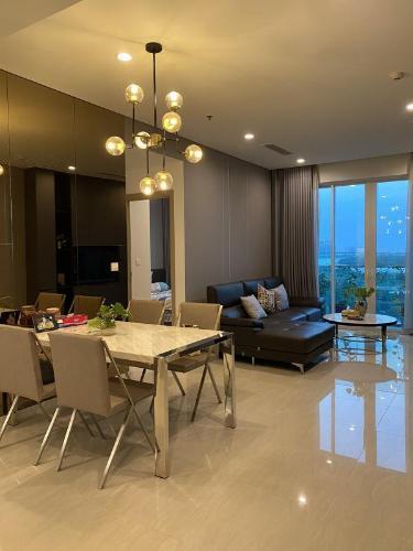 Căn hộ tầng trung Sadora Apartment nội thất đầy đủ.