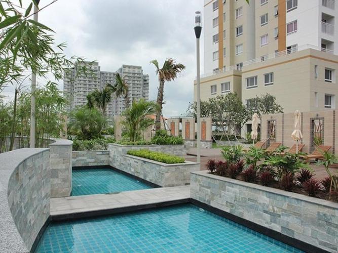 hồ bơi căn hộ Tropic Garden Căn hộ Penthouse nội thất đầy đủ, view sông Tropic Garden