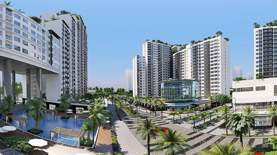 Căn hộ New City Thủ Thiêm, Quận 2 Căn hộ New City Thủ Thiêm tầng 6 diện tích 75m2, đầy đủ nội thất.