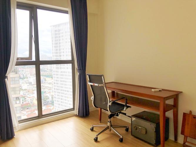 Phòng ngủ Masteri Millennium Quận 4 Căn hộ tầng cao Masteri Millennium nội thất hiện đại, view Q1.