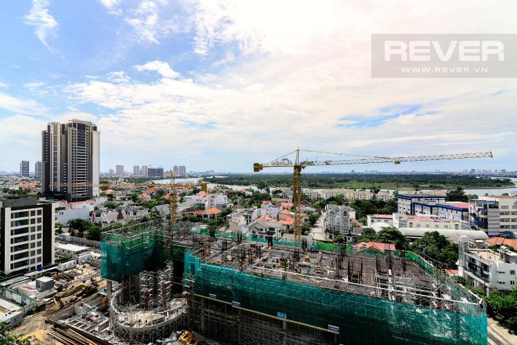 View căn hộ Masteri An Phú, Quận 2 Căn hộ Masteri Thảo Điền tầng 12A, view thành phố sầm uất tuyệt đẹp.