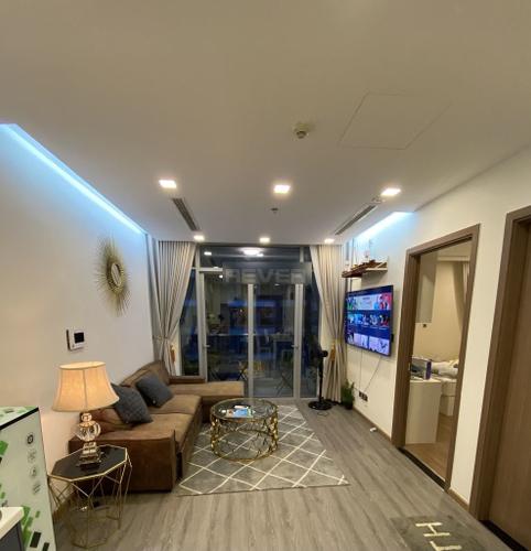 Căn hộ tầng 31 Vinhomes Central Park diện tích 50m2, đầy đủ nội thất.