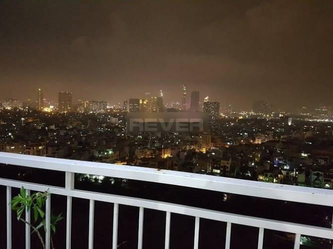 View căn hộ Quốc Cường Gia Lai 1, Quận 7 Căn hộ Quốc Cường Gia Lai 1 tầng 18 view thành phố, đầy đủ nội thất.