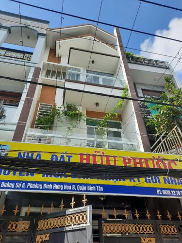 Mặt tiền nhà phố Quận Bình Tân Nhà phố diện tích 75m2, hẻm rộng 7m đường Số 6 khu vực kinh doanh sầm uất.