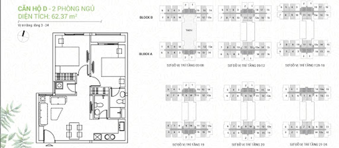 Căn hộ Dream Home Riverside thiết kế kỹ lưỡng, bàn giao nội thất cơ bản.
