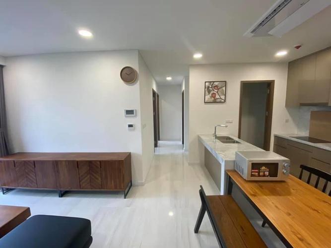 Căn hộ Kingdom 101 tầng 10 thiết kế 2 phòng ngủ, đầy đủ nội thất.