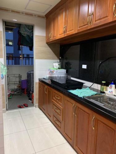 Phòng bếp Vision, Bình Tân Căn hộ Vision Bình Tân nội thất cơ bản, view thoáng mát.