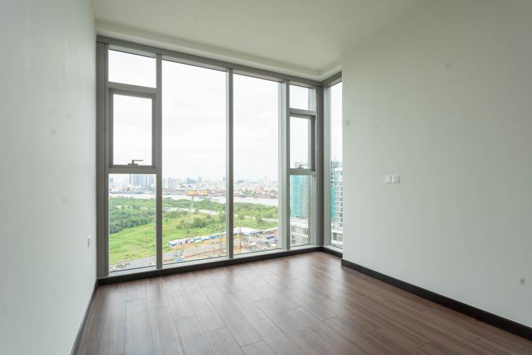 Phòng khách căn hộ Empire City, Quận 2 Căn hộ Empire City tầng 21 ban công hướng Đông Nam, nội thất cơ bản.