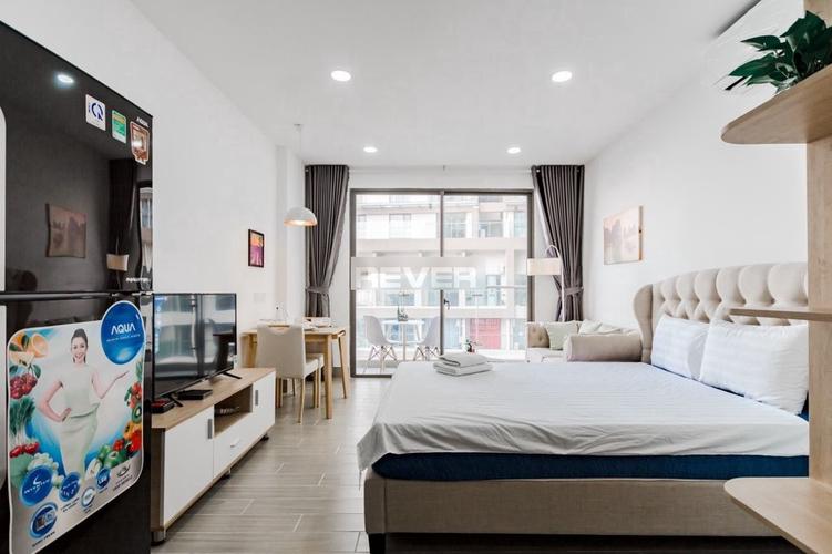 Căn hộ Masteri Millennium, Quận 4 Căn hộ tầng 6 Masteri Millennium có 1 phòng ngủ, bàn giao đầy đủ nội thất.