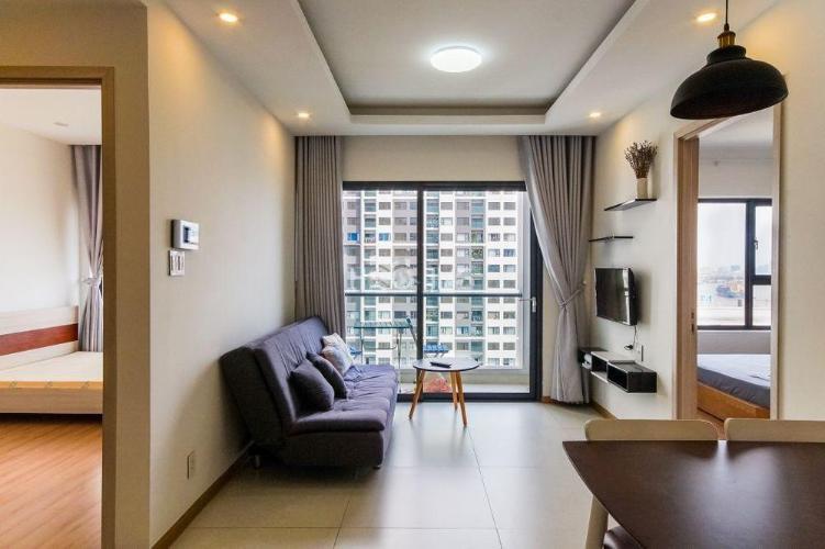 phòng khách New City Thủ Thiêm  quận 2 Căn hộ tầng 16 New City Thủ Thiêm, view nội khu thoáng mát