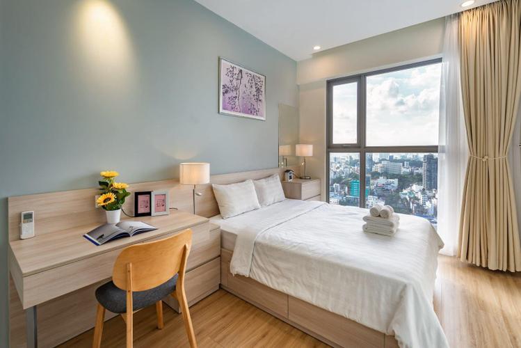 Căn hộ Masteri Millennium, Quận 4 Căn hộ Masteri Millennium tầng 30 cửa hướng Đông Nam, view thành phố.