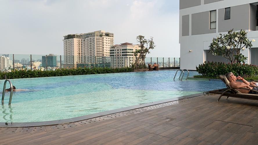 Tiện ích căn hộ River Gate, Quận 4 Căn hộ River Gate tầng 17 diện tích 30m2, đầy đủ nội thất hiện đại.