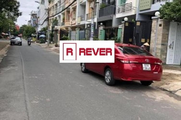 Đường trước nhà phố Quận Bình Tân Nhà phố diện tích 100m2 vuông đẹp, khu Tên Lửa gần Aeon Bình Tân.