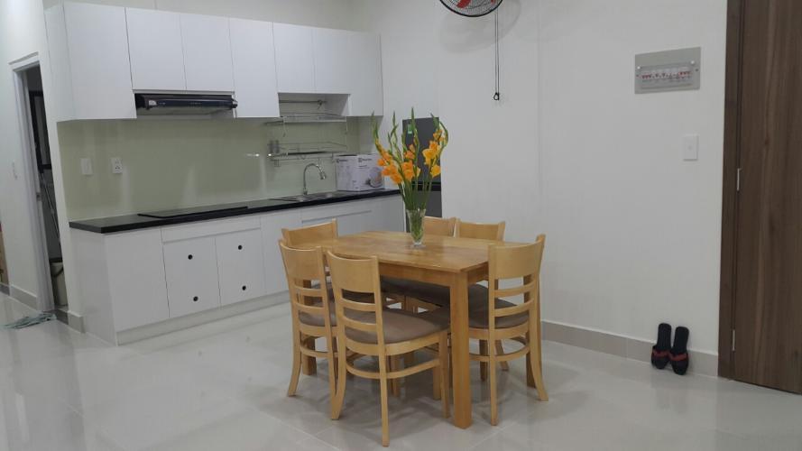 Căn hộ Topaz Elite tầng 15 nội thất cơ bản, đầy đủ tiện ích.
