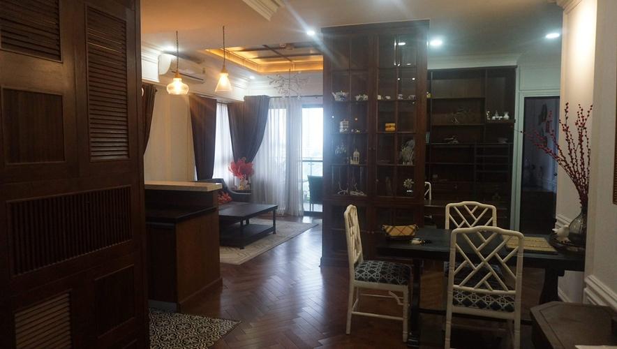 Căn hộ DockLands Sài Gòn tầng 6 cửa hướng Đông Nam, đầy đủ nội thất.