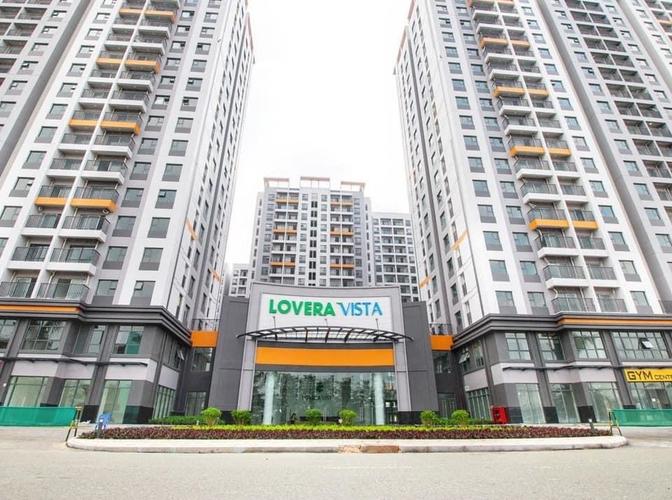 Căn hộ Lovera Vista, Huyện Bình Chánh Căn hộ Lovera Vista tầng 17 diện tích 65.68m2, nội thất cơ bản.